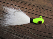 Bucktail Lure, Banjo Eye