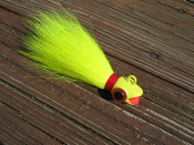 Bucktail Lure, Ruby Lip